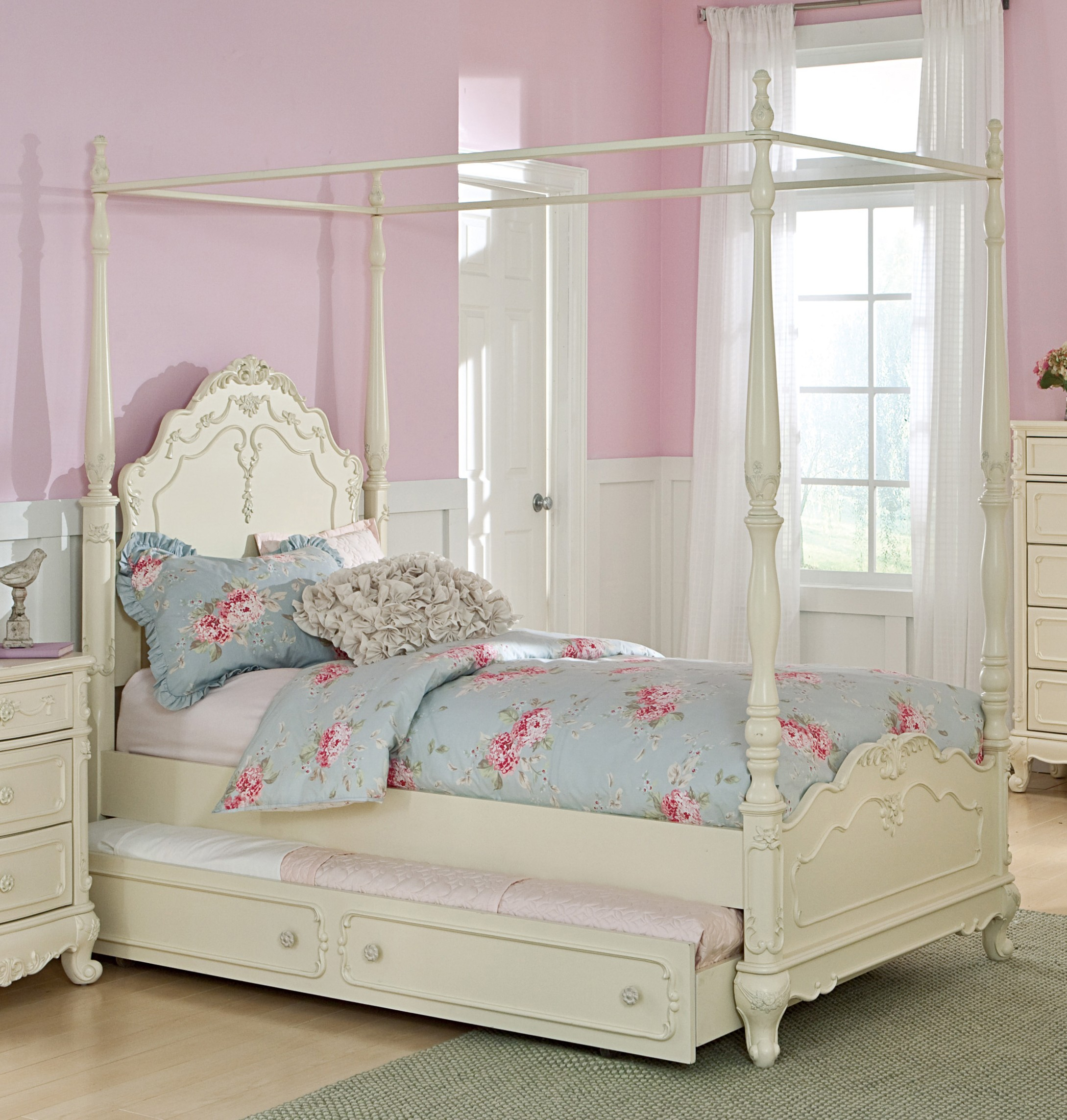 Canopy Beds For Girls Toddler Diy Little Roomscanopy Full Size & Toddler Canopy Beds For Girls - buythebutchercover.com