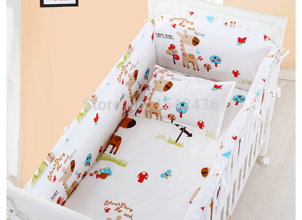 Wholesale 5 Baby Crib Bedding Set Cot Bedding Sets Baby Bed Set
